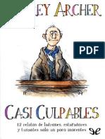 Casi Culpables, Jeffrey Archer book