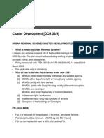 Cluster Development(India)