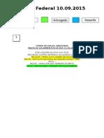 Diário Federal 10.09.2015