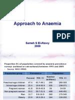 Approaching Anaemia
