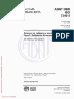 NBR ISO NBR ISO 7240-5