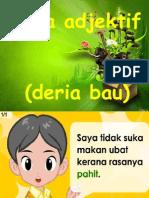 Kata Adjektif (Deria Bau)