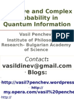 Vasil Penchev. Negative or Complex Probability in Quantum Information