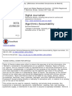Algorithmic Accountability-Journalistic Investigation of Computational Power Structures