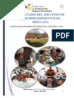 Documento Final Del Diagnostico de Bioemprendimientos de La Region Amazónica-provincia de Orellana