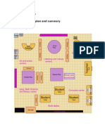 classroom floorplan and summary