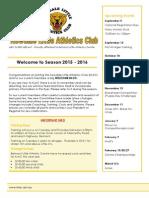 Registration Newsletter 2015-16