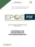 COMPENDIO PSICOPEDAGOGICO PMOE 2015
