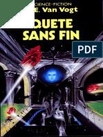 Quete Sans Fin - A.E. Van Vogt