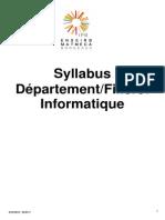 Syllabus FR I