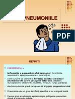 3 Curs - Pneumoniile 2014