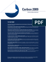 Carbon 2009 -- Emission Trading Coming Home