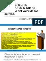 EliecerCampos Caso Aplicación NIC 36 V2