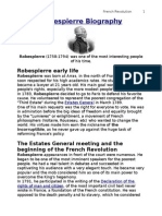 robespierre biography