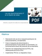 CCNA UsoDireccionamientoIP Redes