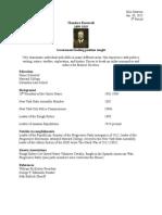 progressive resume project