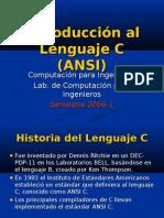 Introducción Al Lenguaje C (ANSI)