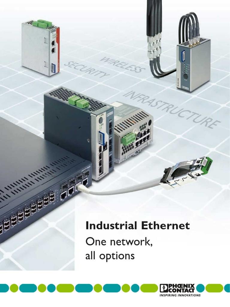 Phoenix Contact - 52003209 de en Industrial Ethernet Lores