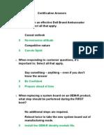 DCSE1000 Certification Answers