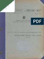 Parti di ricambio Autocarro Medio Fiat CM 50 (4x4)