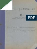 Parti di ricambio Autocarro Medio Fiat CM 52 (4x4)