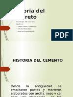 Historia Del Concreto