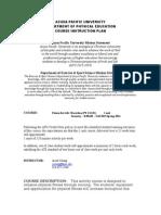 p e  124 syllabus fall 2015