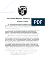 Mid Atlantic Regional Bargaining Report # 34