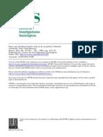 Vidal-Beneyto- Fundamentacion Teórica de Politica Cultural[1]