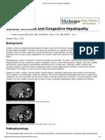 Cardiac Cirrhosis and Congestive Hepatopathy