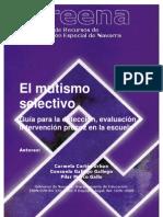 GUIA MUTISMO SELECTIVO_Guía para la detección, evaluación e intervención precoz en la escuela