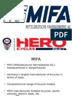 MIFA Hero Cycles