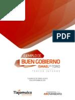 Tercer Informe de Gobierno - Ismael Del Toro 10 Sept 2015