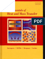 Fundamentals of Heat and Mass Transfer - 6th Edition Incropera