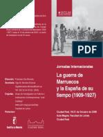 La Guerra de Marruecos y la España de su tiempo