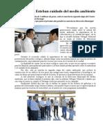 29.09.2013 Comunicado Impulsa Esteban Cultura Del Medio Ambiente