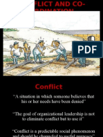 Conflict and Co-Ordination