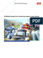 DSI-DYWIDAG Bonded PT Systems Using Strands