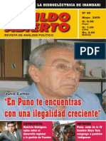 Cabildo Abierto n. 40