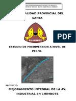 Mejoramiento Integral de La Av. Industrial en Chimbote