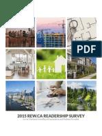 2015 Rew Reader Survey Report