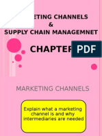 MARKETING CHANNELS & SUPPLY CHAIN MANAGEMNET