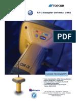 Brochure de Gps Gr-3