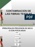 Contaminacion de Las Fibras Textiles