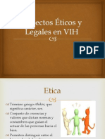 Aspectos Éticos y Legales en VIH