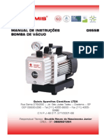 Manual Bomba de Vacuo_QUIMIS q955b