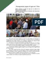 02.12.2014 Más de 10 Mil Duranguenses Pagan El Agua en 2 Días