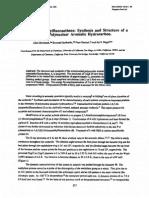 Tetrahedron Letters Volume 34 Issue 2 1993 [Doi 10.1016%2Fs0040-4039%2800%2960565-8] Allen Borchard; Kenneth Hardcastle; Peter Gantzel; Jay S. Siegel -- 1,6,7,10-Tetramethylfluoranthene- Synthesis And