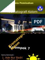 Kromatografi Kolom
