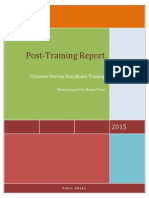Boston Post Training Report